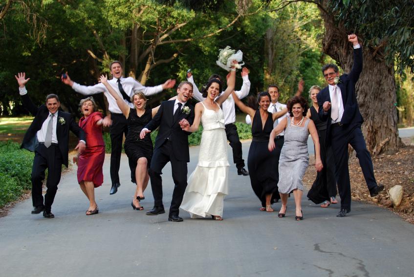 Прикольное знакомство на свадьбе с гостями