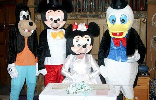 Весілля Мікі Мауса