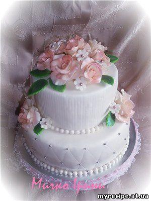 Весільні торти в гості до ірини