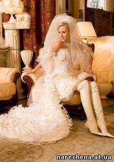 Платье которое указывает что невеста