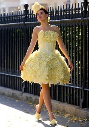 незвичайне плаття