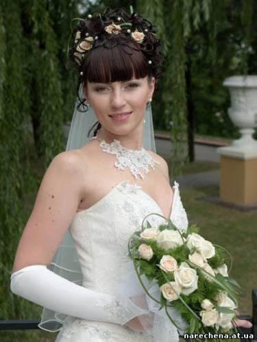 Весільні зачіски весільні зачіски