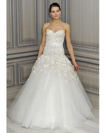 Сукні весільні плаття 2012 monique lhuillier